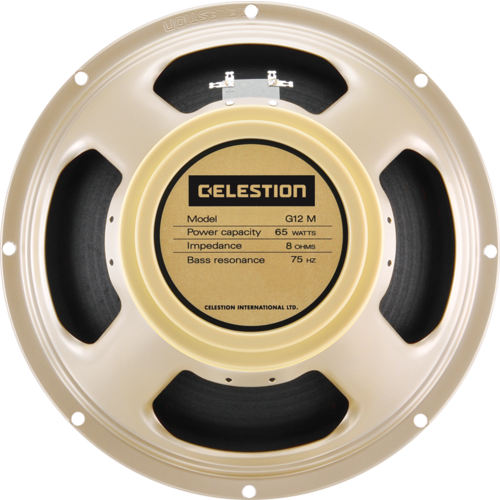 "Celestion Celestion - Speaker 12"" - G12M-65 - Creamback, 65 watts - 8ohm"