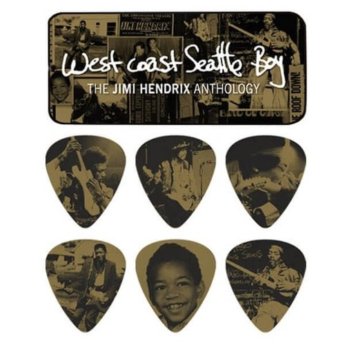 Dunlop Dunlop - Jimi Hendrix West Coast Seattle Boy - Pick Tin
