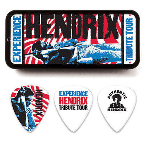 Dunlop Dunlop - Jimi Hendrix Experience Tribute Tour médiators - Pick Tin
