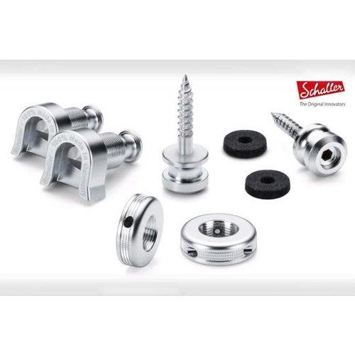 Allparts Allparts - Schaller - Strap Locks - Nickel