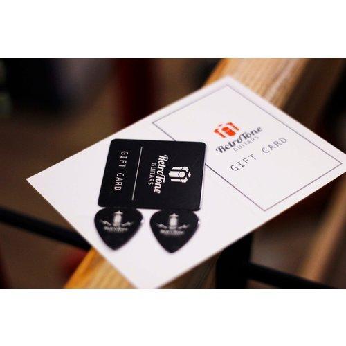 Retro Tone Guitars Retro Tone Gift Card