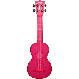 Kala Music Makala - Waterman Soprano Ukulele -  Fluorescent - Watermelon Pink