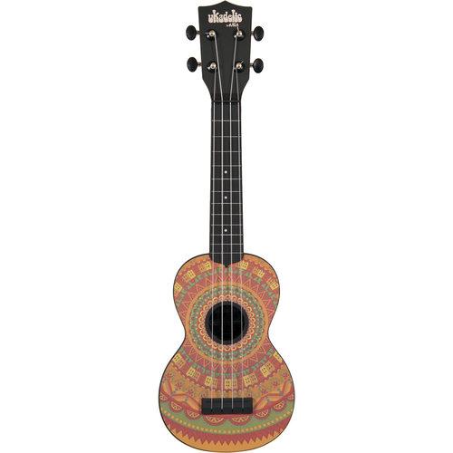 Kala Music Kala - Ukadelic - Soprano Acoustic Ukulele - Mehndi - Soprano