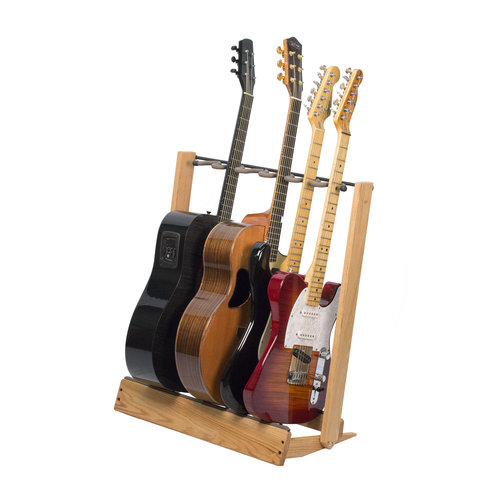 String Swing String swing - Guitar Rack - Wood Base - Oak Wood