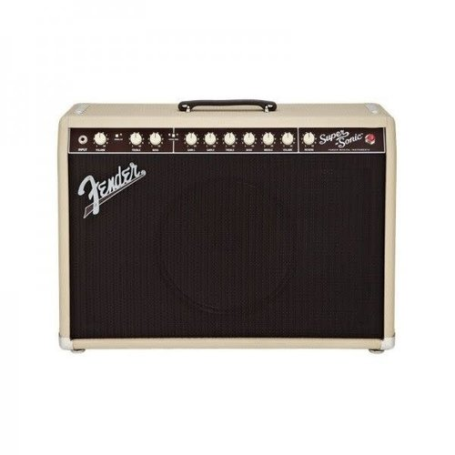 Fender USED - Fender Super Sonic 22 Blonde - 22watts - w/footswitch and gig bag - CONSIGNMENT