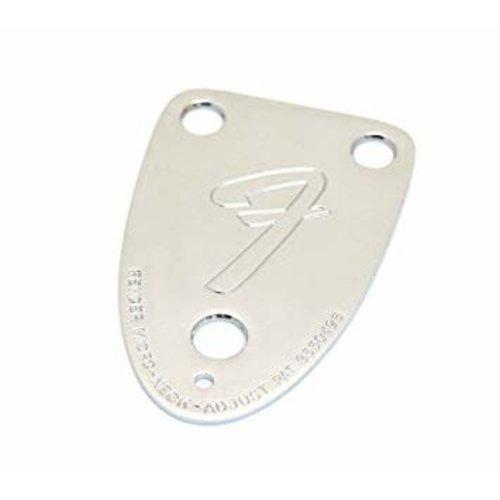 """Fender Fender - """"F"""" Neck Plate - 3 Bolt"""