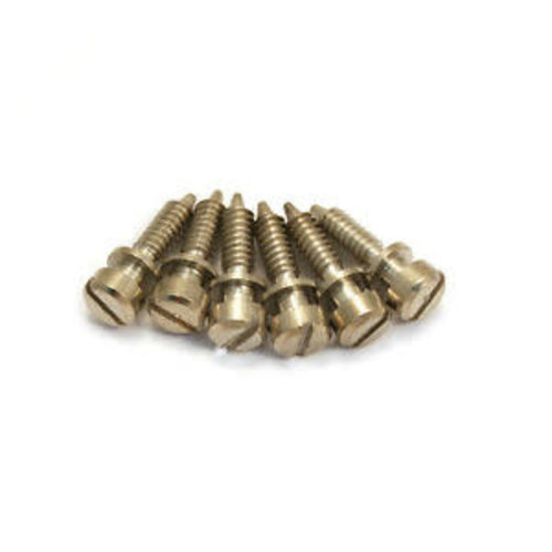 Allparts Allparts - Nickel Intonation Screws
