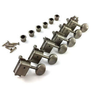 Allparts Allparts - Gotoh 6-in-line Vintage Keys Aged Nickel