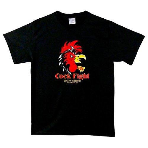 Electro Harmonix Electro Harmonix - T-Shirt - Cockfight - Black