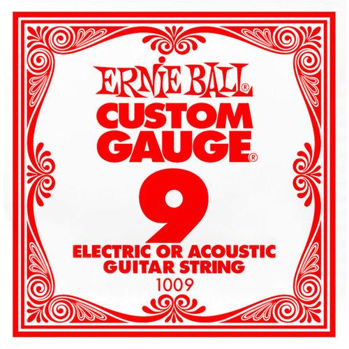 Ernie Ball Ernie Ball -  Plain Steel - Acoustic or Electric Guitars Single String - .9