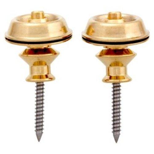 Allparts Allparts - Strap Locks - Dunlop - Gold