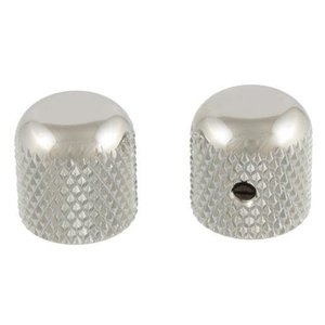 Allparts Allparts - Metal Dome Knobs - Nickel