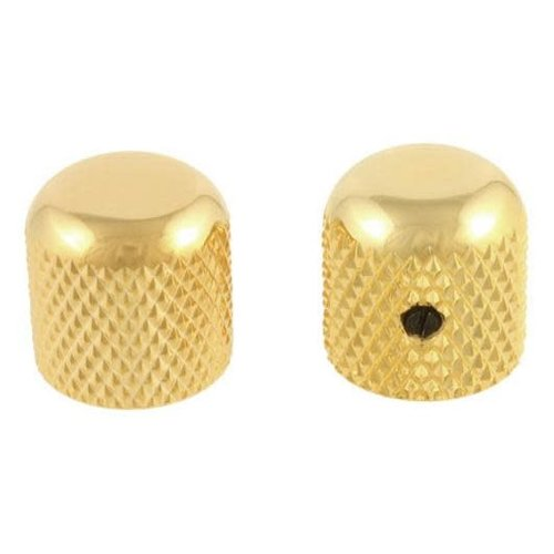 Allparts Allparts - Metal Dome Knobs - Gold