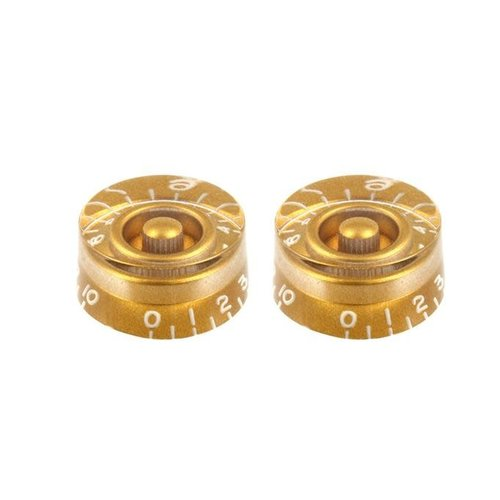 Allparts Allparts - Gold Speed Knobs for Gibson