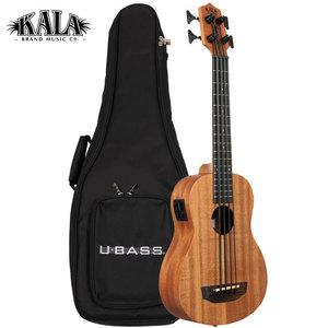 Kala Music Kala - U-Bass - Nomad - Acoustic Electric with gig bag