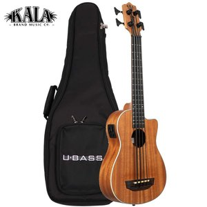 Kala Music Kala - U-Bass - Scout - Acoustic Electric with bag  with gig bag