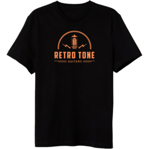 Retro Tone Guitars - T-Shirt - Official Logo -  Rifa 2019 -