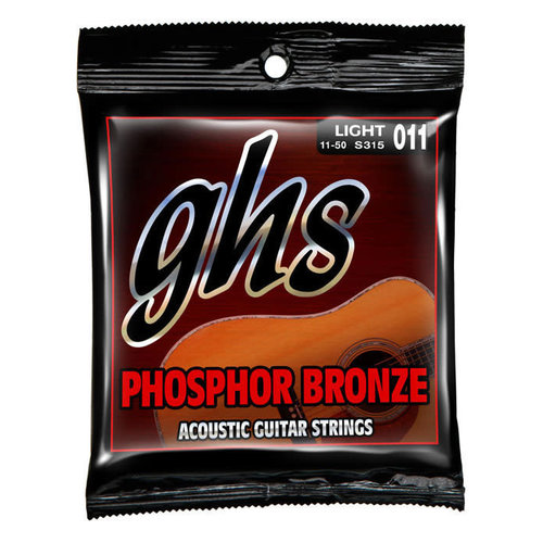 GHS GHS - Boomers - Phosphor Bronze - Extra Light - .11-.50
