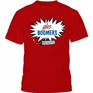 GHS - GHS Classic Boomers T-Shirt - Red - XL