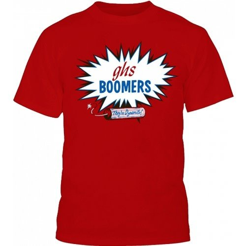 GHS - GHS Classic Boomers T-Shirt - Red - L