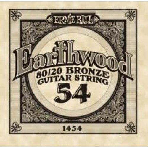 Ernie Ball Ernie Ball -  Earthwood 80/20 Bronze -  Single String - .54