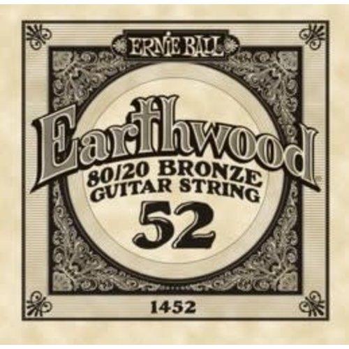 Ernie Ball Ernie Ball -  Earthwood 80/20 Bronze -  Single String - .52