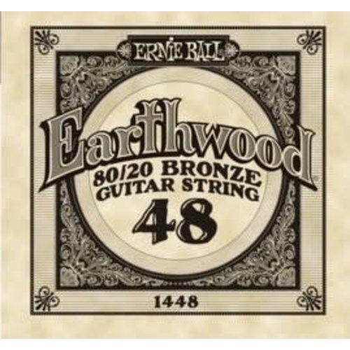 Ernie Ball Ernie Ball -  Earthwood 80/20 Bronze -  Single String - .48