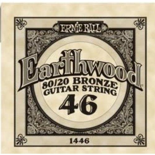 Ernie Ball Ernie Ball -  Earthwood 80/20 Bronze -  Single String - .46