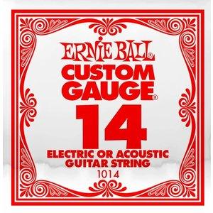 Ernie Ball Ernie Ball -  Plain Steel - Acoustic or Electric Guitars Single String - .14