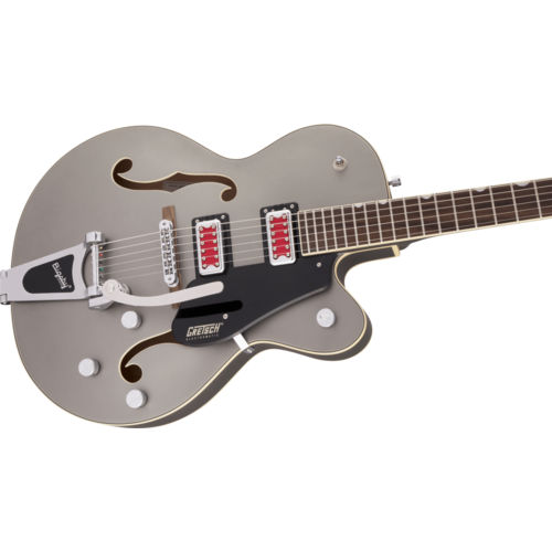 "Gretsch Gretsch - G5410T - Electromatic ""Rat Rod"" Hollow Body Single Cut with Bigsby - Matte Phantom Metallic"
