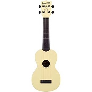 Kala Music Makala - Waterman - Soprano Acoustic Ukulele - Pale Yellow Matte