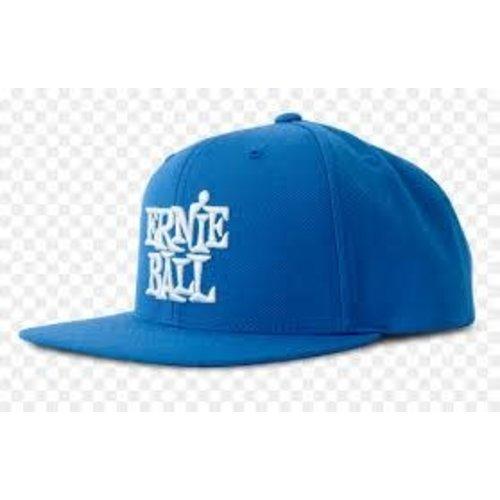 Ernie Ball Ernie Ball - Stacked Logo Hat - Blue with White