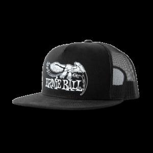 Ernie Ball Ernie Ball - Eagle Logo Hat - Black with White Logo