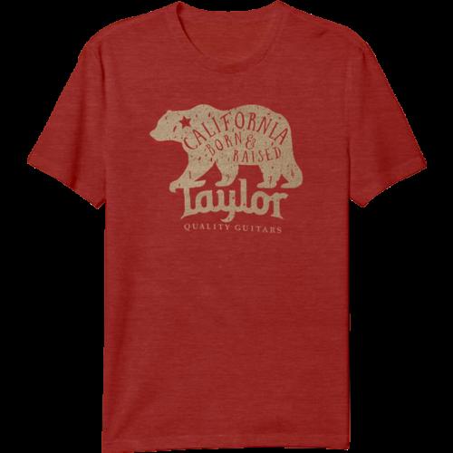 Taylor Guitars Taylor - T-Shirt - California Bear - Red
