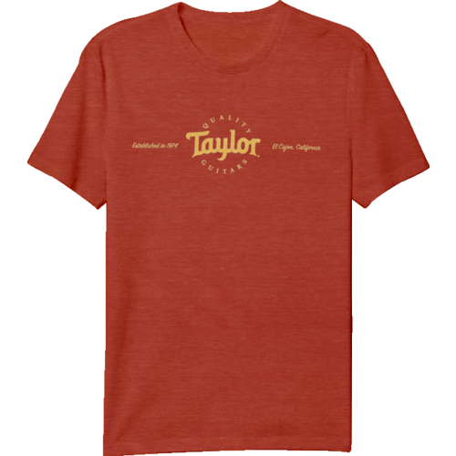 Taylor Guitars Taylor - T Shirt - Classic T - Red