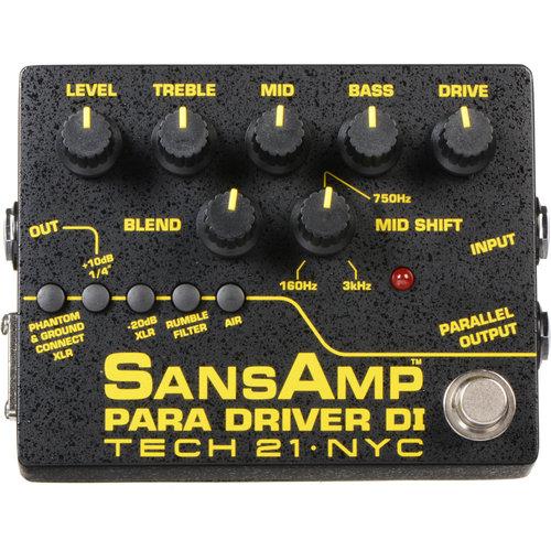 Tech 21 Tech 21 - SansAmp - Para Driver DI v2 - Preamp w/ EQ