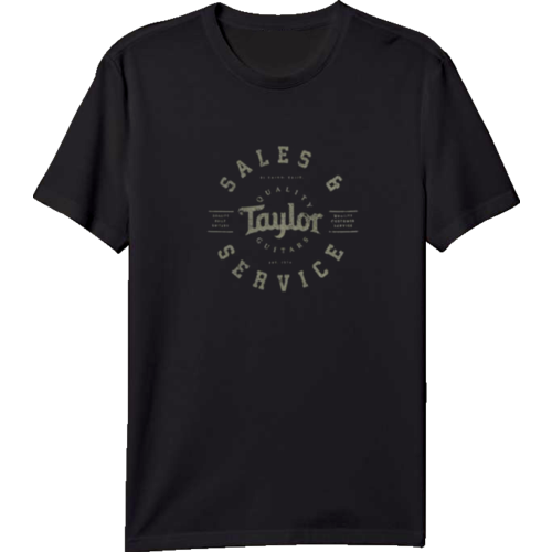 Taylor Guitars Taylor - T shirt - Black