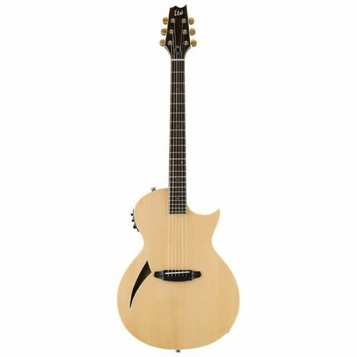 LTD - ESP Guitars LTD - TL-6 - Thinline Acoustic Electric - Natural