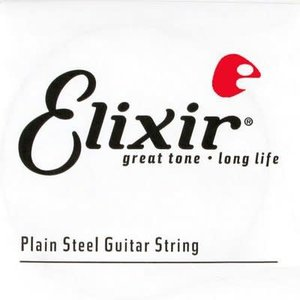 Elixir Elixir - Anti-Rust Plain Steel - Single String   .014