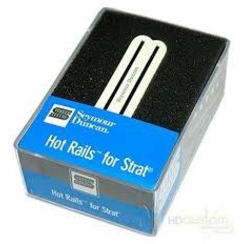 Seymour Duncan Seymour Duncan - SHR-1b - Hot Rails for Strat - Bridge - Parchment