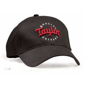 Taylor Guitars Taylor - Black Cap - Red/White Logo