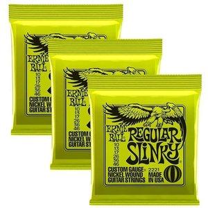 Ernie Ball Ernie Ball -  Regular Slinky - 10-46 - 3 Pack