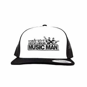 Ernie Ball Ernie Ball - Musicman Logo Hat - Black with White Logo