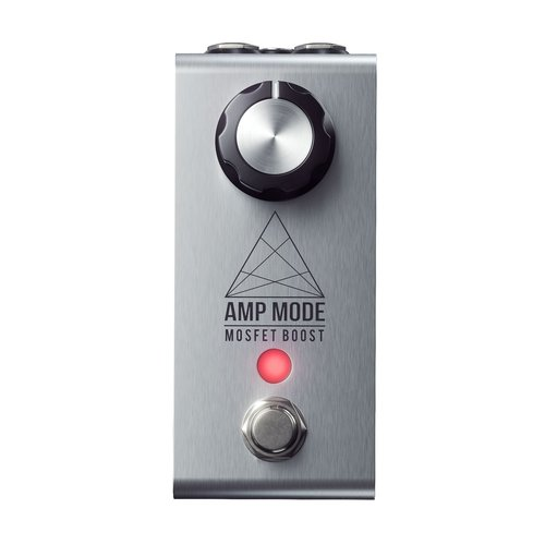 Jackson Audio - Amp Mode -  Boost Pedal - Stainless Steel