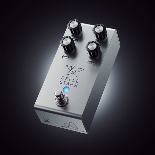 Jackson Audio - Belle Starr Overdrive Pedal - Stainless Steel