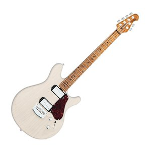 Ernie Ball Music Man Ernie Ball - Music Man Valentine James Valentine - Trans Buttermilk- w/ Hard Shell Case