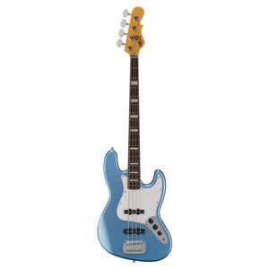 G&L G&L - Tribute - JB Bass - White PG - Lake Placid Blue