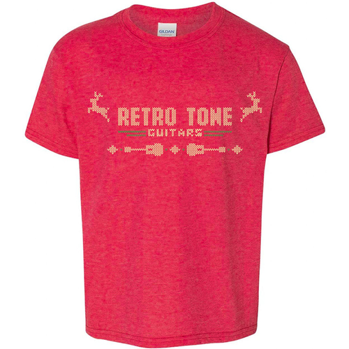 Retro Tone Guitars Retro Tone Guitars -  Xmas  T-Shirt - Rifa Chao 2020  -