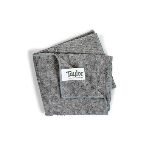 "Taylor Guitars Taylor - Taylor Premium Plush Microfibre Cloth - 12""x15""  - Gray"