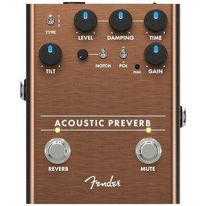 Allparts Fender - Acoustic Preverb Acoustic - Preamp/Reverb Pedal
